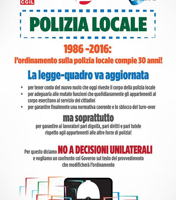 Finalmente una legge per la polizia locale