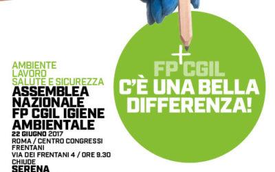 Assemblea Nazionale FP CGIL Igiene Ambientale
