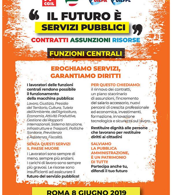 Il futuro è servizi pubblici | Manifestazione nazionale