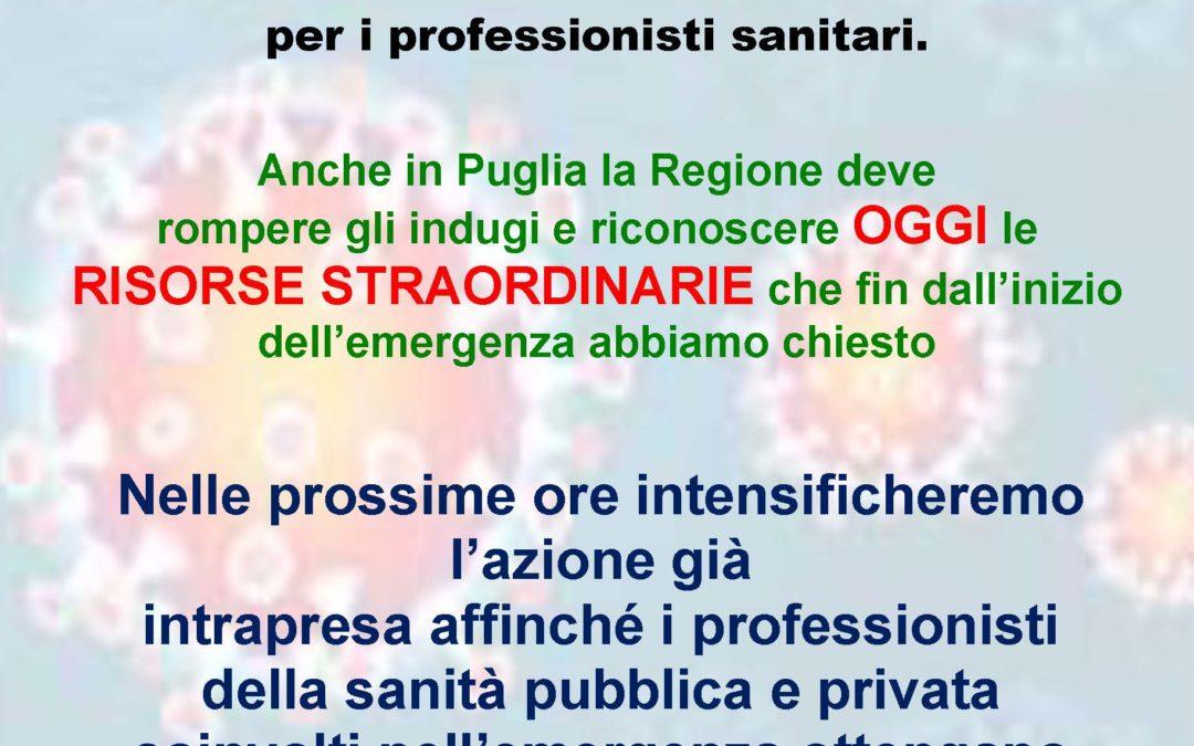 Volantino Segreterie Regione Puglia
